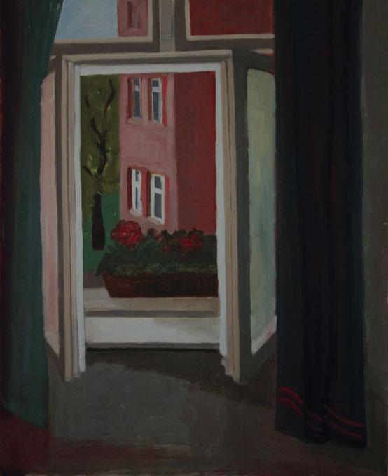 Das Fenster, 100 x 80 cm, 1996